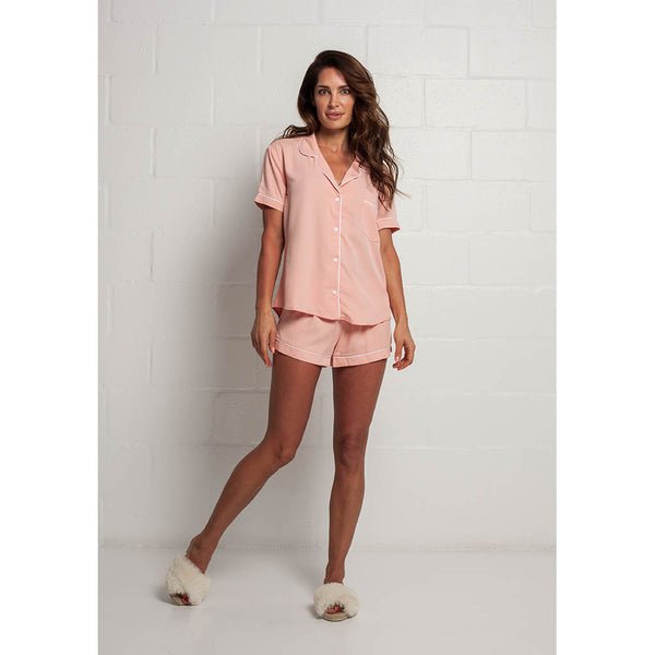 Classic Short Pajama Set | Blush