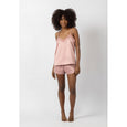 Silky Cami & Shorts Set | Antique Rose