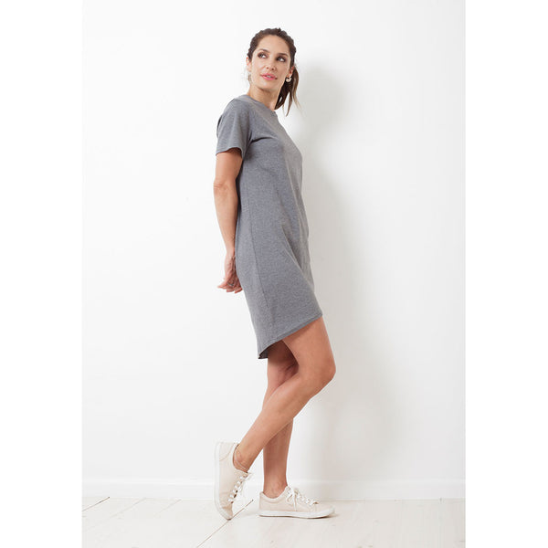 SALE Charlie Dress Short | Charcoal