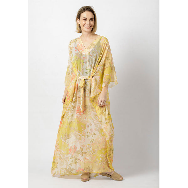 Paltrow Kaftan | Summer Paisley