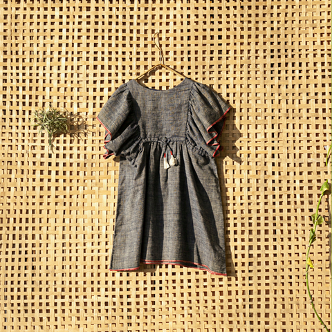 'Neela ravi' Kimono Dress - Milk teeth -Kids Dresses, Girls Dress, Girls Skirt, Boys Shirts, Kids Shorts,T-Shirts, Boys Shoes, Girl Sandals,Kids Online Shopping
