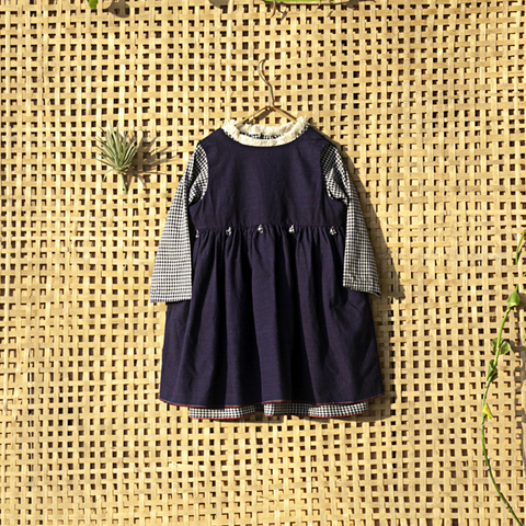 'Megha ravi' Girls double dress - Milk teeth -Kids Dresses, Girls Dress, Girls Skirt, Boys Shirts, Kids Shorts,T-Shirts, Boys Shoes, Girl Sandals,Kids Online Shopping