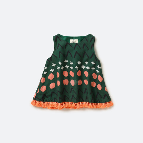 Mandala top - Milk teeth -Kids Dresses, Girls Dress, Girls Skirt, Boys Shirts, Kids Shorts,T-Shirts, Boys Shoes, Girl Sandals,Kids Online Shopping
