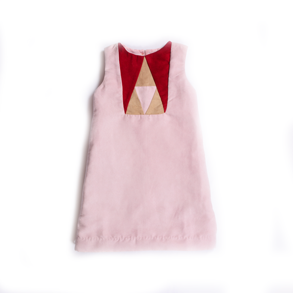 Prism Dress (Pink) - Milk teeth -Kids Dresses, Girls Dress, Girls Skirt, Boys Shirts, Kids Shorts,T-Shirts, Boys Shoes, Girl Sandals,Kids Online Shopping