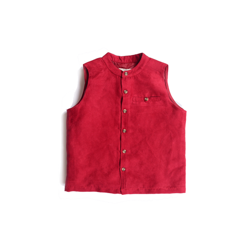Carnival Waist Coat (Maroon) - Milk teeth -Kids Dresses, Girls Dress, Girls Skirt, Boys Shirts, Kids Shorts,T-Shirts, Boys Shoes, Girl Sandals,Kids Online Shopping