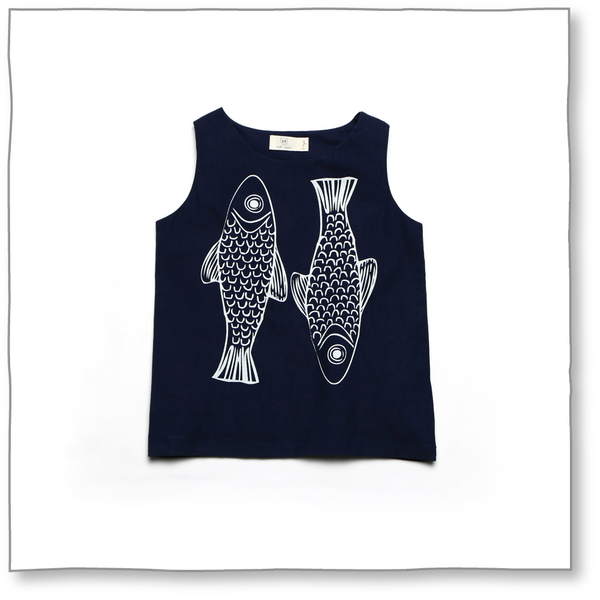 Trout Top - Milk teeth -Kids Dresses, Girls Dress, Girls Skirt, Boys Shirts, Kids Shorts,T-Shirts, Boys Shoes, Girl Sandals,Kids Online Shopping