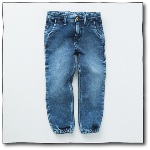 Boys' Denim Joggers - Milk teeth -Kids Dresses, Girls Dress, Girls Skirt, Boys Shirts, Kids Shorts,T-Shirts, Boys Shoes, Girl Sandals,Kids Online Shopping