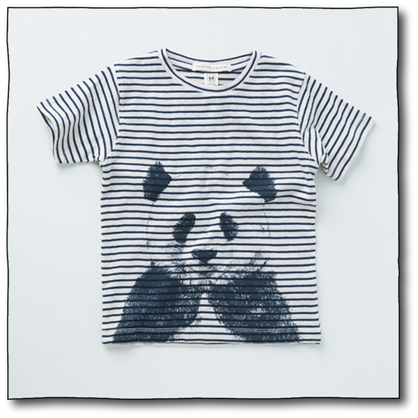 Boys' Panda Tee - Milk teeth -Kids Dresses, Girls Dress, Girls Skirt, Boys Shirts, Kids Shorts,T-Shirts, Boys Shoes, Girl Sandals,Kids Online Shopping