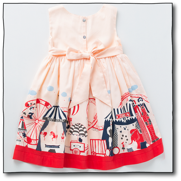 Girls' Circus Dress - Milk teeth -Kids Dresses, Girls Dress, Girls Skirt, Boys Shirts, Kids Shorts,T-Shirts, Boys Shoes, Girl Sandals,Kids Online Shopping