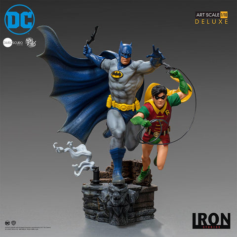 DC Comics by Ivan Reis Series 5 : Batman & Robin Deluxe Art Scale 1:10 Statue