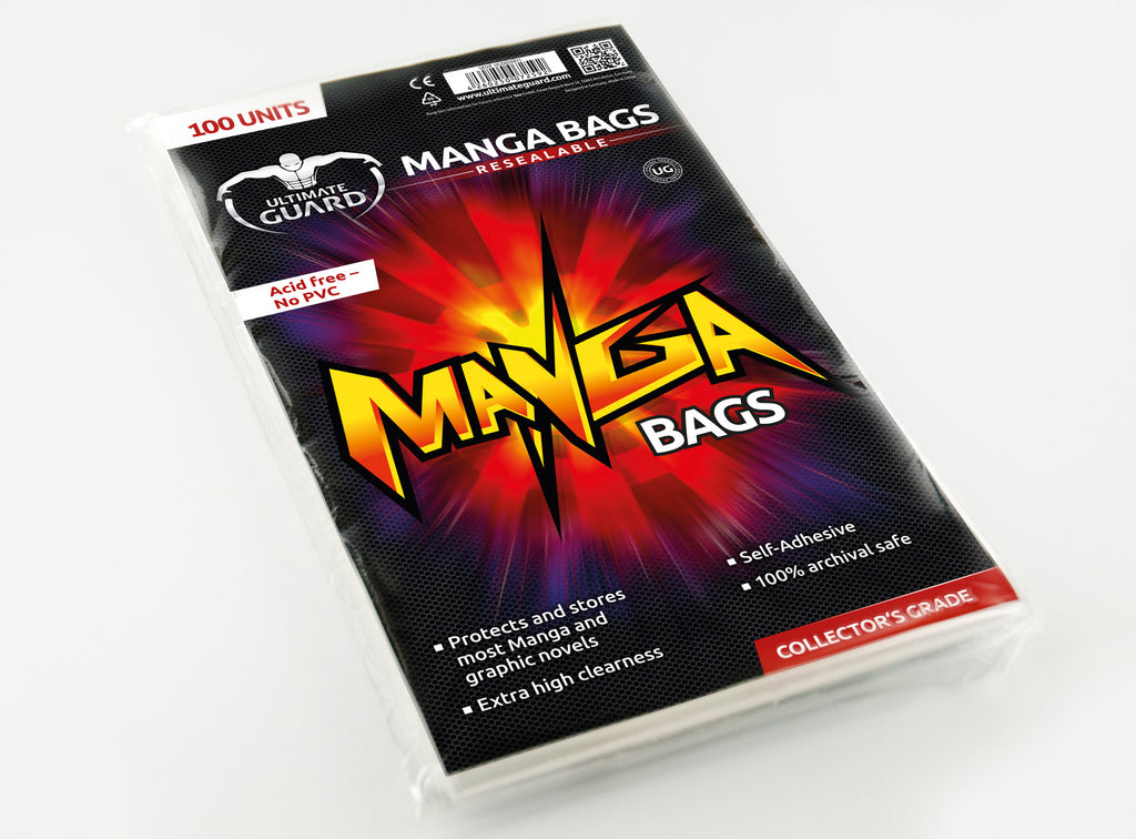 Manga Resealable Bags (Pack of 100)