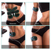 NAIPO Portable TENS Unit Muscle Toner Abs Toning Stimulator Massager Pulse