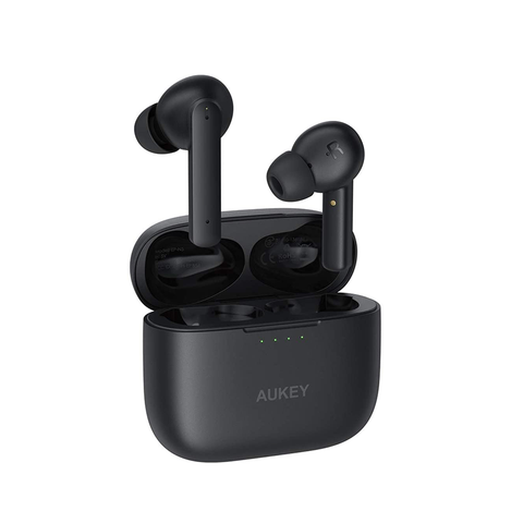AUKEY True Wireless Earbuds Active Noise Cancelling Bluetooth 5.0 Earphone USB-C