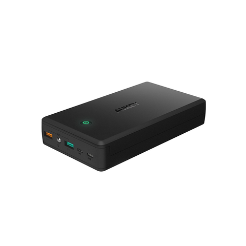Aukey 30000mAh QC3.0 2 USB port Power Bank