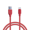 AUKEY USB-C to USB 3.0 Type-C Charging Cable Nylon Braided Samsung(3ft/1.2m)