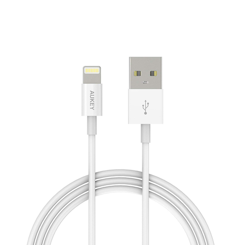 AUKEY Lightning USB Charging Cable Apple iPhone Mfi Certified iPhone (1m/3.3ft)