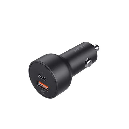AUKEY USB-C PD QC 3.0 USB Port Car Charger