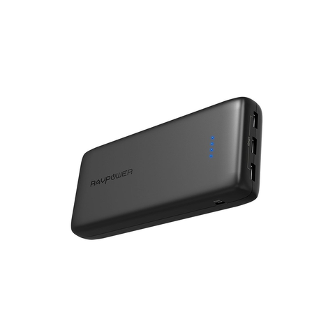 RAVPower 32000mAh 6A 3 USB Ports Power Bank