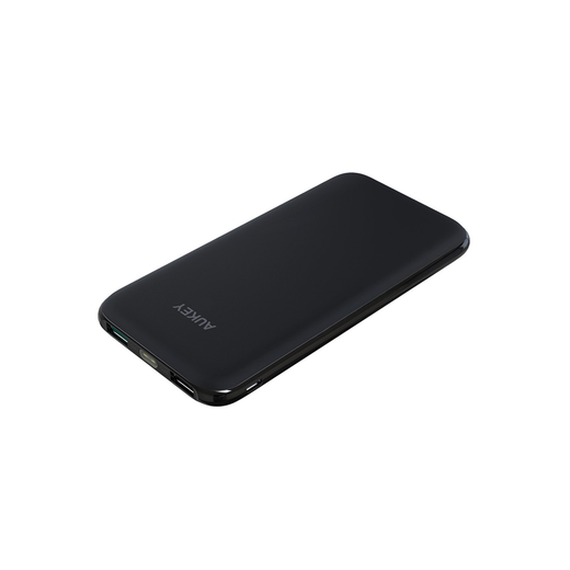 AUKEY 10000mAh Dual USB Port Slim Power Bank