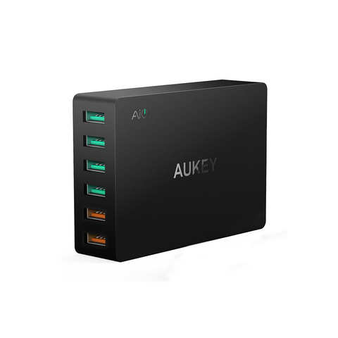 AUKEY 6 Port QC3.0 USB Port USB Wall Charger