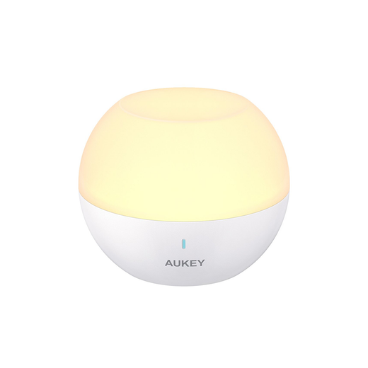 AUKEY Night Light Bedside Lamp with RGB Color Light LED Table Bedroom Lights