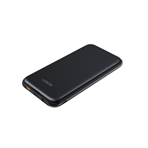 AUKEY 10000mAh USB-C PD Port Slim External Battery Power Bank