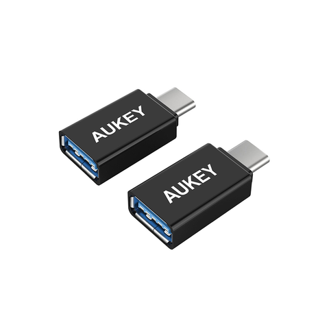 AUKEY USB-C to USB 3.0 Adapter (2-Pack)