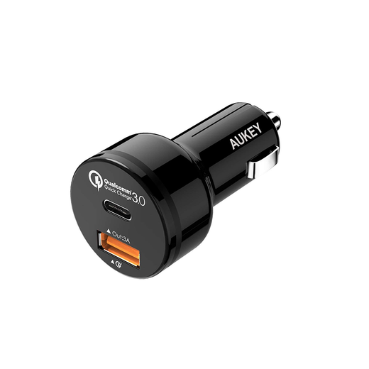 AUKEY USB-C Quick Charge 3.0 USB Port Car Charger