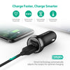 RAVPower 18W 2.4A Dual USB port Car Charger