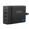 CHOETECH 72W 4 Ports USB C Charger with 60W PD Power Delivery Charging Station