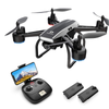 DEERC D50 Drone for Adults with 2K UHD Camera FPV Live Video 120 FOV 2 Batteries