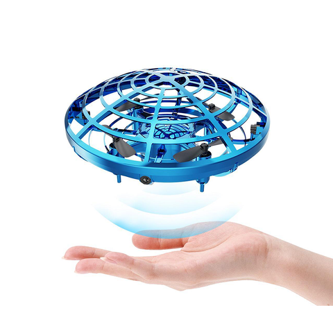 DEERC Drone for Kids Toys Hand Operated Mini UFO Flying Ball Helicopter Toy