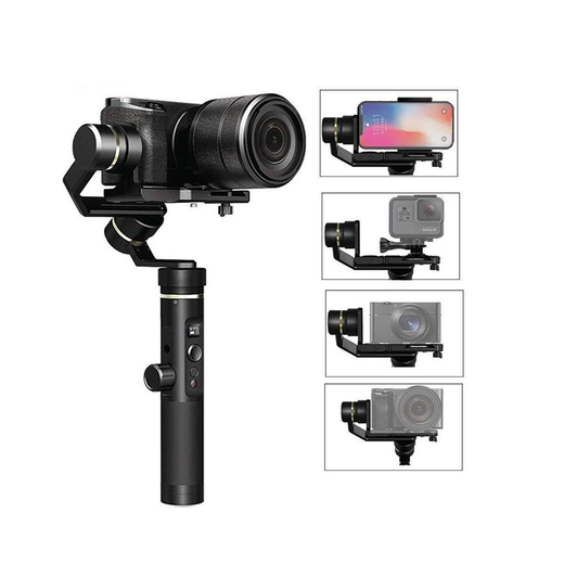 Feiyu Tech G6 Plus 3-Axis Splash-Proof Gimbal Stabilizer Smartphone Camera GoPro