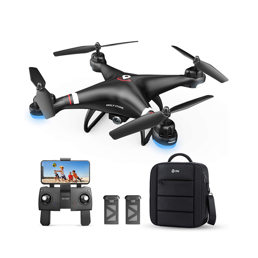Holy Stone HS110G GPS FPV Drone 1080P HD Camera Live Video with Carrying Bag
