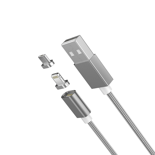 Moizen M4 2 in 1 Lightning/Micro USB Magnetic Cable