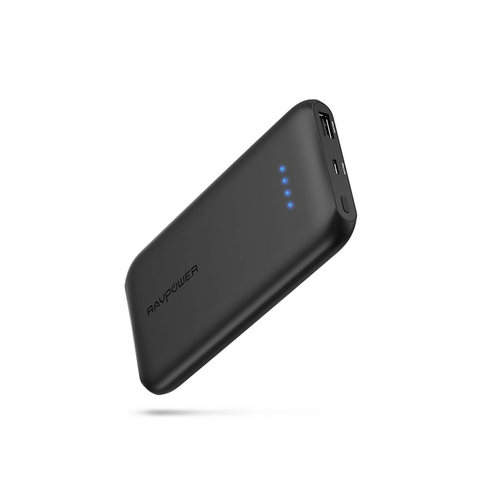 RAVPower 10000mAh QC 3.0 USB Port Ultra Slim Power Bank
