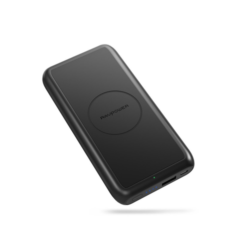 RAVPower 10000mAh 5W Wireless Charging Power Bank
