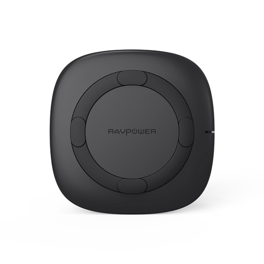 RAVPower 5W Wireless Charger Qi Certified Fast Charging Pad