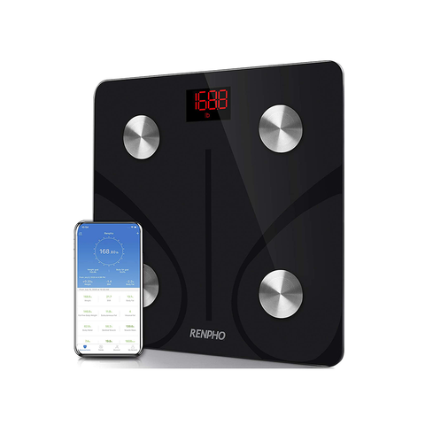 RENPHO Body Fat Scale Smart BMI Digital Bathroom Wireless Weight Smartphone App