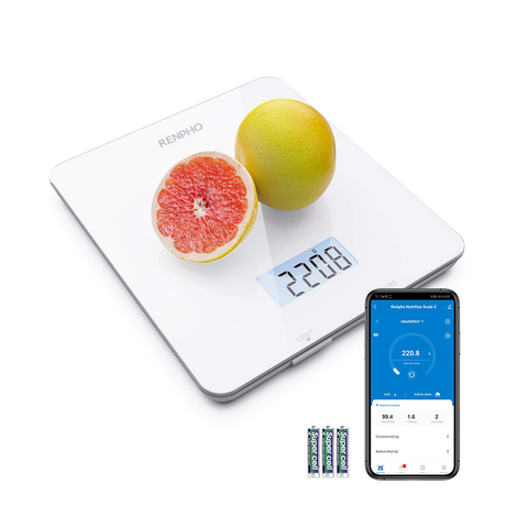RENPHO Digital Food Scale Kitchen Scale Cooking Nutritional Calculator with App
