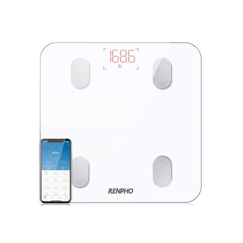 RENPHO BluetoothBody Fat Scale Smart Bathroom Wireless Weight Smartphone App