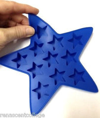 Star (11 Cavities) Silicone Soap Tray Mould