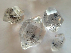 Herkimer Diamonds x 3, Perfects, Large or Inclusions