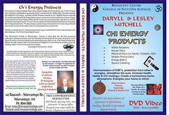 PERSONAL CHI ENERGY DISC Teslar Inspired EMF Harmony Adults & Children
