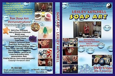 FREE if your order is over $400 - SOAP ART DVD