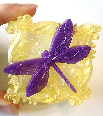 Dragonfly Square Silicone Mould
