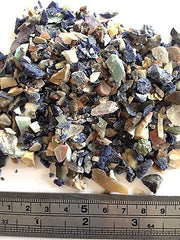 Mixed Gemstone Crystals Tiny Rough Chips