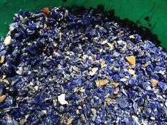 Sodalite Rough Gemstone Chips x 100gm