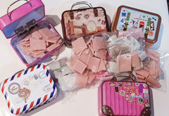 Single use purse carry soaps giftbox