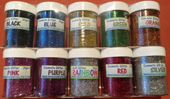 Cosmetic Grade GLITTER 20gm Jar